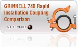 740 Rapid Install Coupling